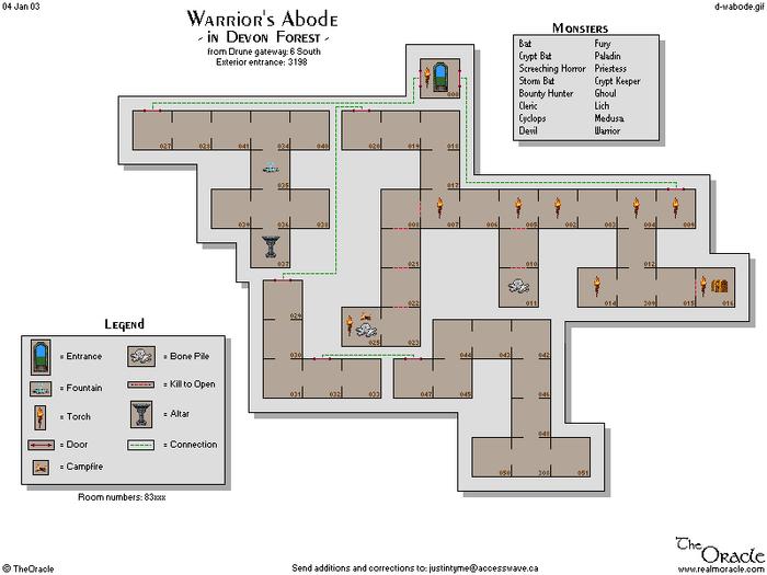 Warriors abode
