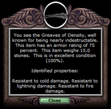 Density pants