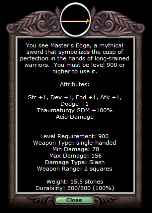Master's Edge   The Realm Online Wiki   FANDOM powered by Wikia