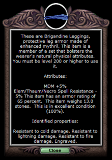 Brig Legs