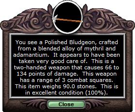 Test maul polishedbludgeon