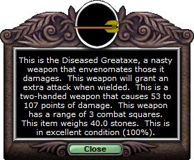 Test axe diseasedgreataxe