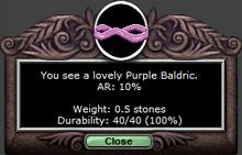 Purplebald