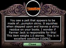 Pumpkinpelt