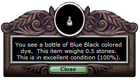 Blue black t