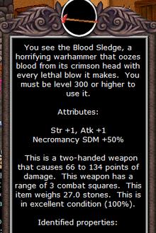 Bloodsledge