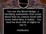 Blood Sledge