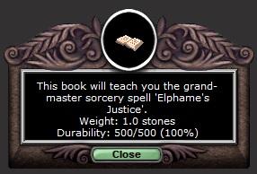 Elphame's Justice'