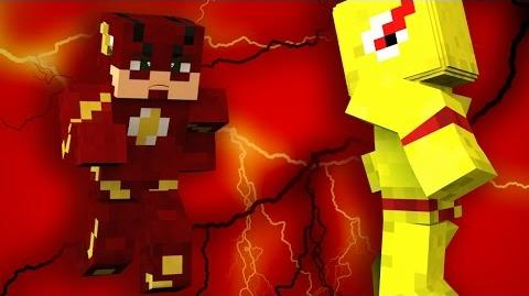 RUN BARRY...RUN! - Minecraft Flash Tag-0