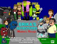 Erika's Adventures - Makron's Revenge US DVD poster