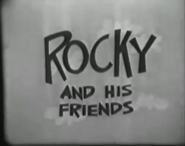 Rocky and His Friends logo (1960)
