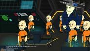 The villain's minions