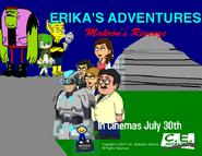 Erika's Adventures - Makron's Revenge UK teaser poster