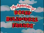 The Adventures of Rocky and Bullwinkle and Friends logo in 1959??