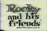 Rocky and His Friends ending logo (1959)