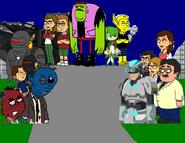 Erika's Adventures - Makron's Revenge poster template
