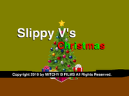 Slippy V's Christmas title card (with Mitchy B Films notice)