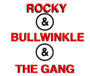 Rocky and Bullwinkle and The Gang logo