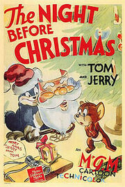 220px-The Night Before Xmas Tom and Jerry Poster