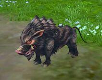 Monstro Javali Selvagem
