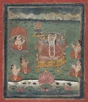 Bundi painting Chinnamasta