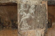 Wall Carvings at Undavalli Caves