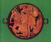 Akhilleus Penthesileia Staatliche Antikensammlungen 2688