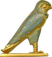 Egyptian - Figure of a Horus Falcon - Walters 571484 - Right