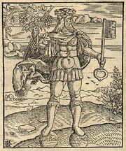Janus, the Roman god (1550)