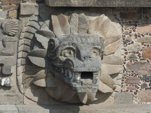 Teotihuacan Feathered Serpent (Jami Dwyer)