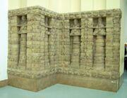 Part of front of Inanna temple of Kara Indasch from Uruk Vorderasiatisches Museum Berlin