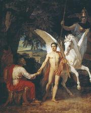 Bellerofont otpravljaetsja v pohod protiv Himery