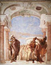 The Rage of Achilles by Giovanni Battista Tiepolo