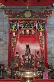Shrine inside the Nam Soon Church, Kolkata