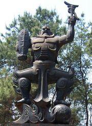 Zhu ro estatua
