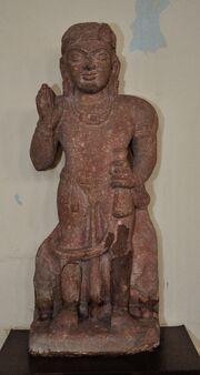 Kubera - Circa 1st Century CE - Kosi Kalan - ACCN 18-1506 - Government Museum - Mathura 2013-02-23 5710