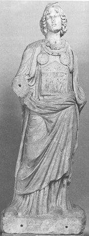 Statue of Gallus priest