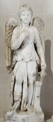 Statue Nemesis Louvre Ma4873