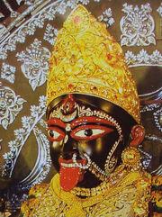 Maa Bhavatarini's face @ Dakshineshwar Kali Temple