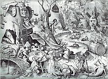 220px-Pieter Bruegel the Elder- The Seven Deadly Sins or the Seven Vices - Gluttony
