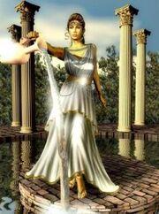 Atenea diosa