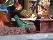 Yangzhou - Zhenwu Hall - tortoise - P1070195