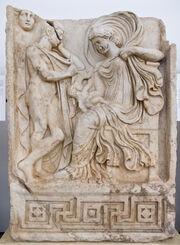 Anquises y Afrodita - Afrodisias