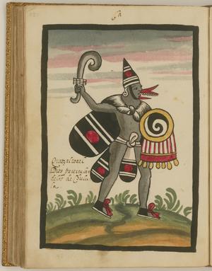 Quetzalcoatl, a Major Deity of the Cholula People WDL6756