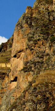 Ollantaytambo, Tunupa monument