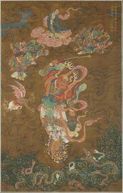 Master Thunder (Lei Gong), dated 1542