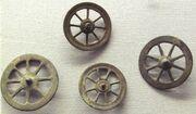 Rouelle votive wheels