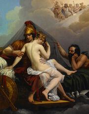 Guillemot, Alexandre Charles - Mars and Venus Surprised by Vulcan - Google Art Project