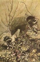 Alberich, de Arthur Rackham