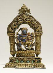 Nepalese - Bhairava with Goddess - Walters 543024 (2)